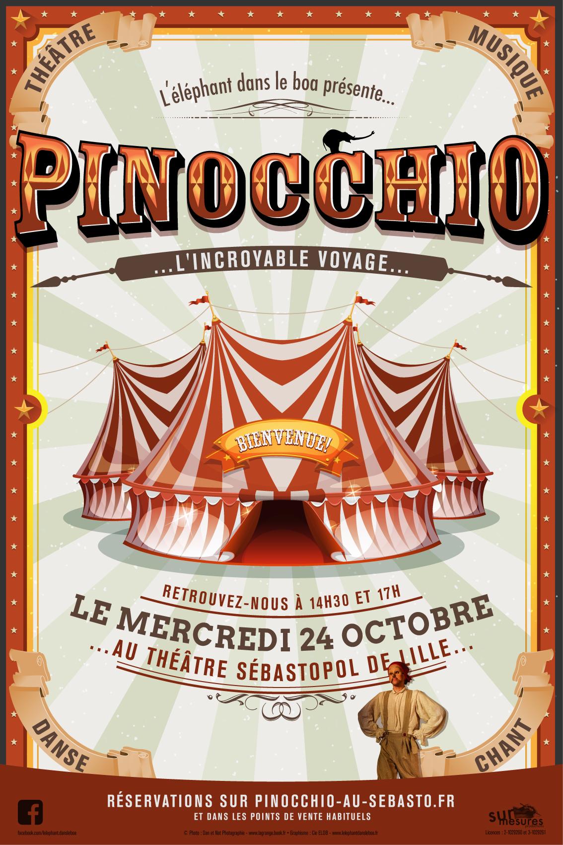 PINOCCHIO : L INCROYABLE VOYAGE
