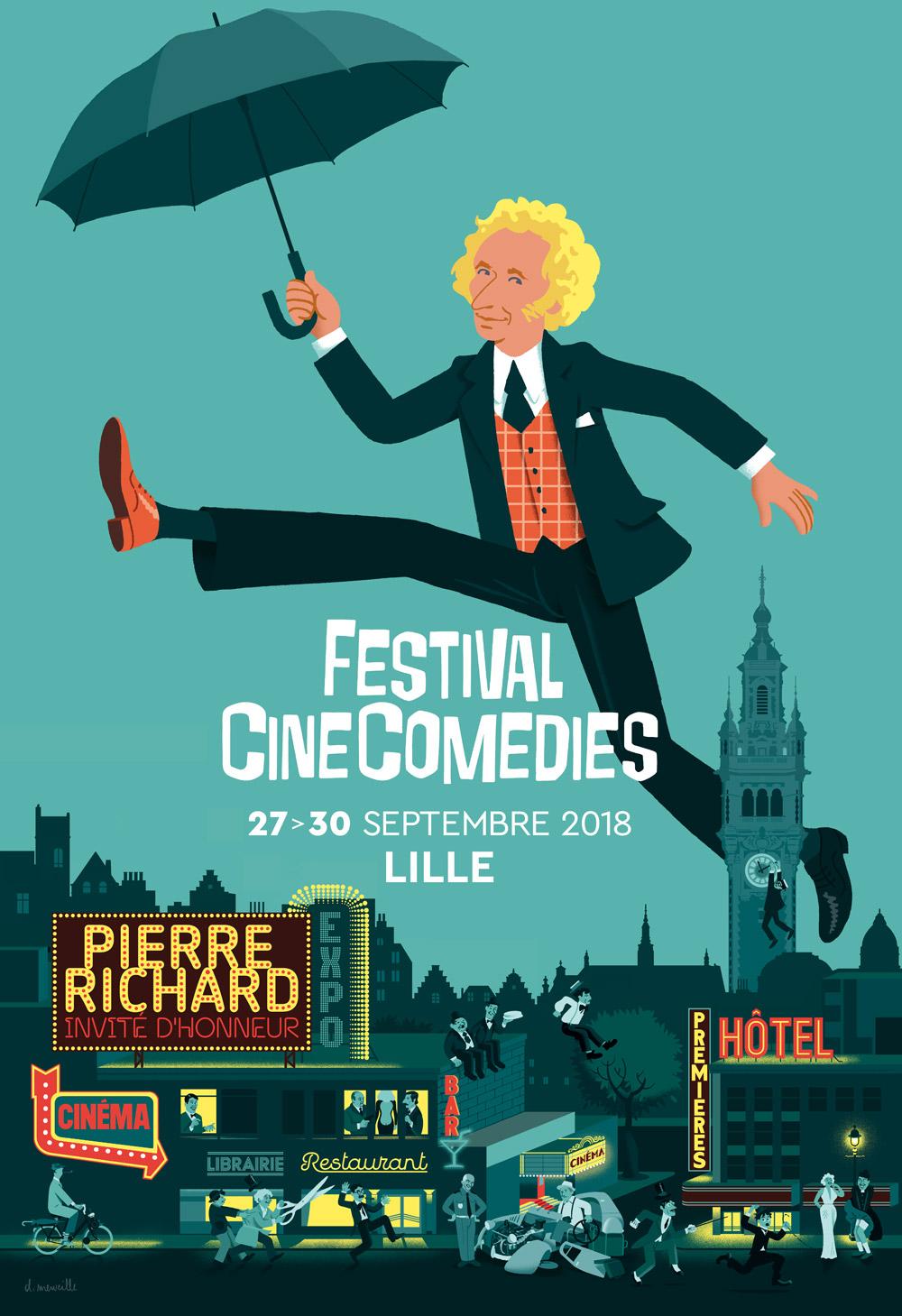 FESTIVAL CINECOMEDIES : RETOUR DE FLAMME