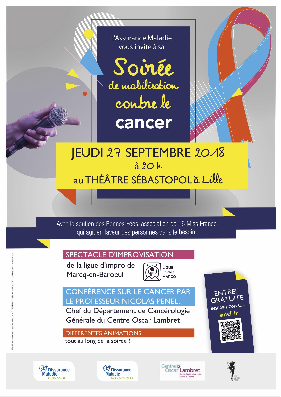 SOIREE DE MOBILISATION CONTRE LE CANCER