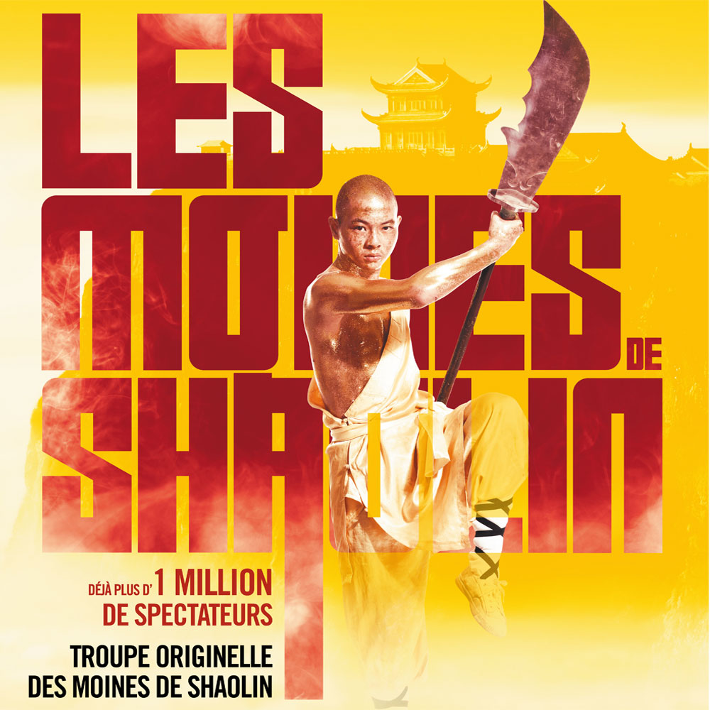 LES MOINES DE SHAOLIN