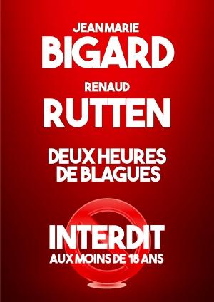 Jean-Marie Bigard et Renaud Rutten
