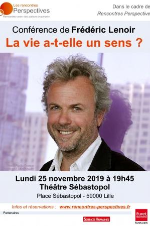Conférence Frédéric Lenoir