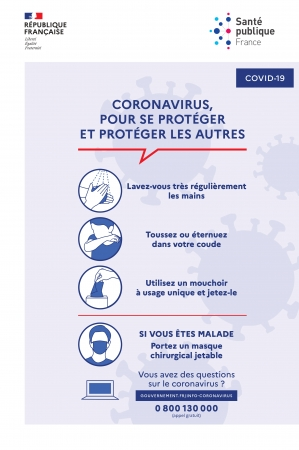 PREVENTION CORONAVIRUS