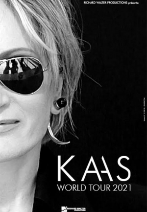 PATRICIA KAAS - DATE DE REPORT