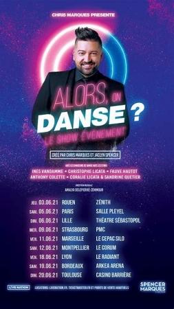 ALORS, ON DANSE ? - DATE DE REPORT