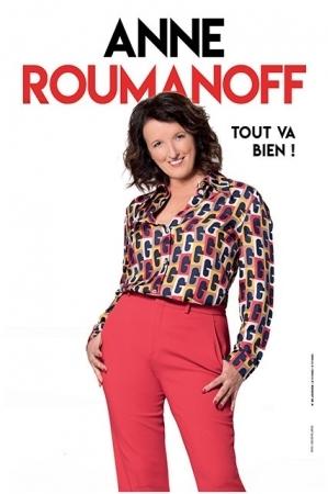 ANNE ROUMANOFF // REPORT DU 25/03/21