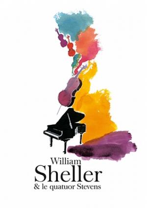 WILLIAM SCHELLER & Le Quatuor Stevens