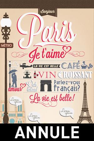 4 JOURS A PARIS // ANNULE