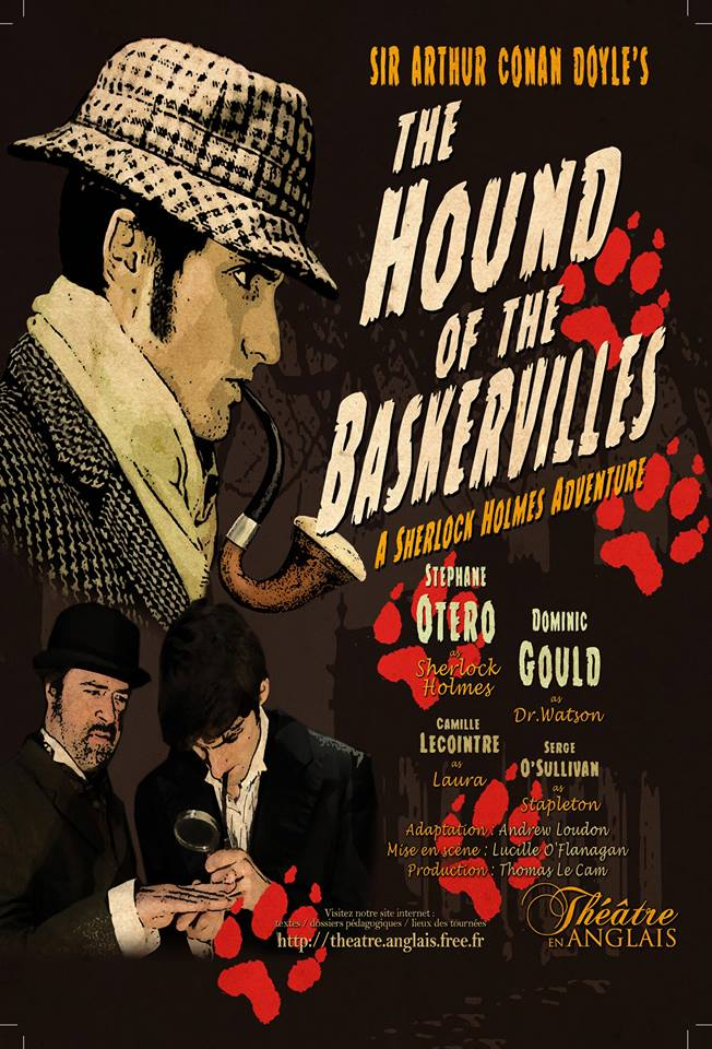 THE HOUND OF THE BASKERVILLES - THEATRE EN ANGLAIS