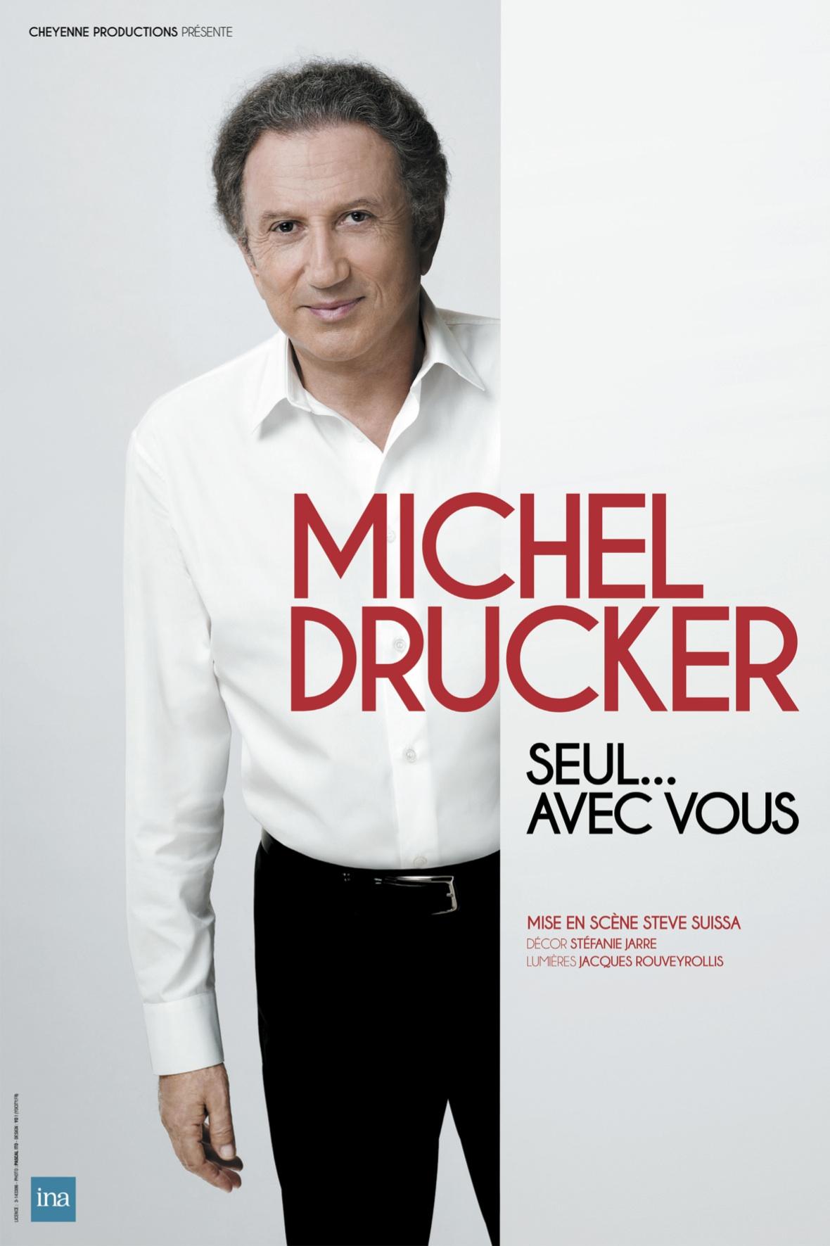 MICHEL DRUCKER : SEUL... AVEC VOUS