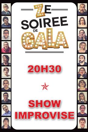 ZE SOIREE DE GALA - SHOW IMPROVISE