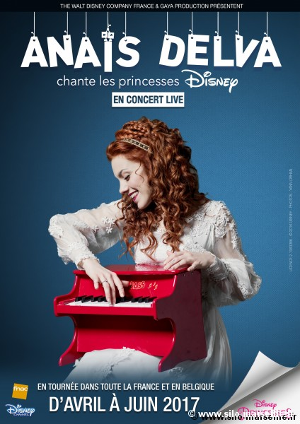 ANAIS DELVA chante les princesses Disney