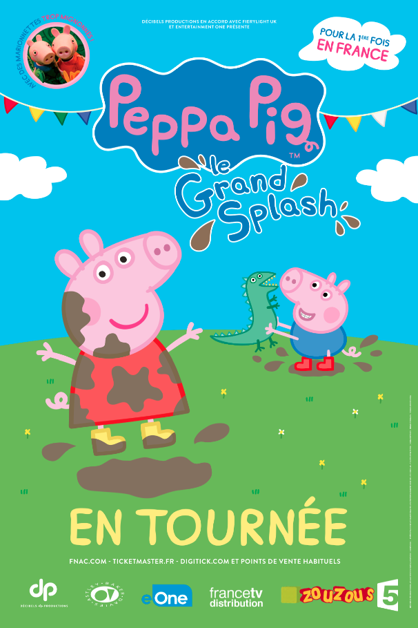 PEPPA PIG : LE GRAND SPLASH