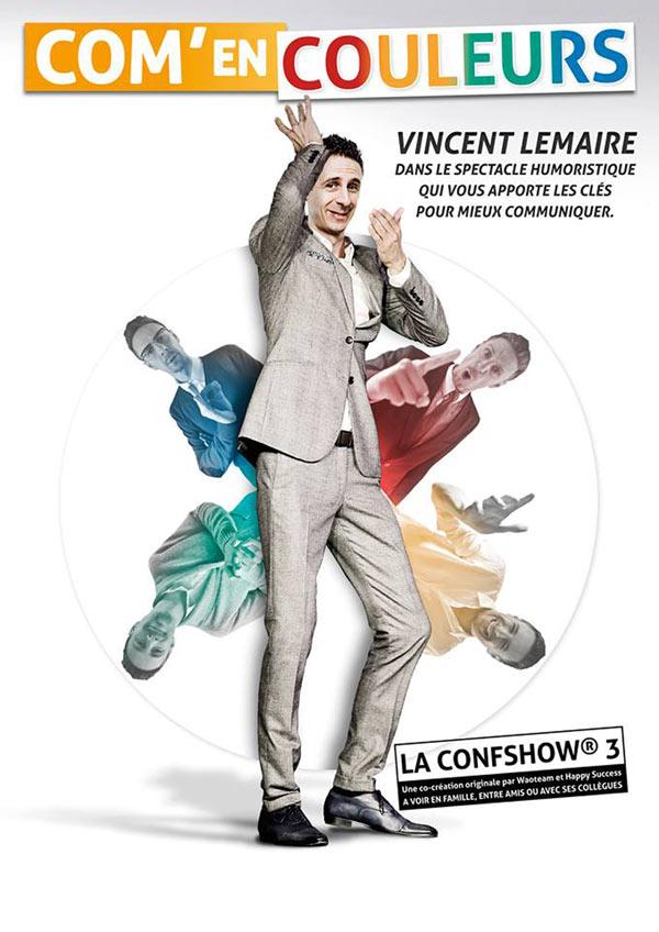 VINCENT LEMAIRE : COM EN COULEURS