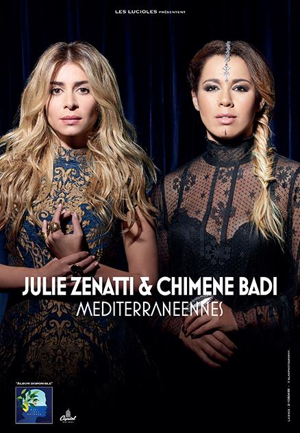 MÉDITERRANÉENNES - JULIE ZENATTI & CHIMÈNE BADI