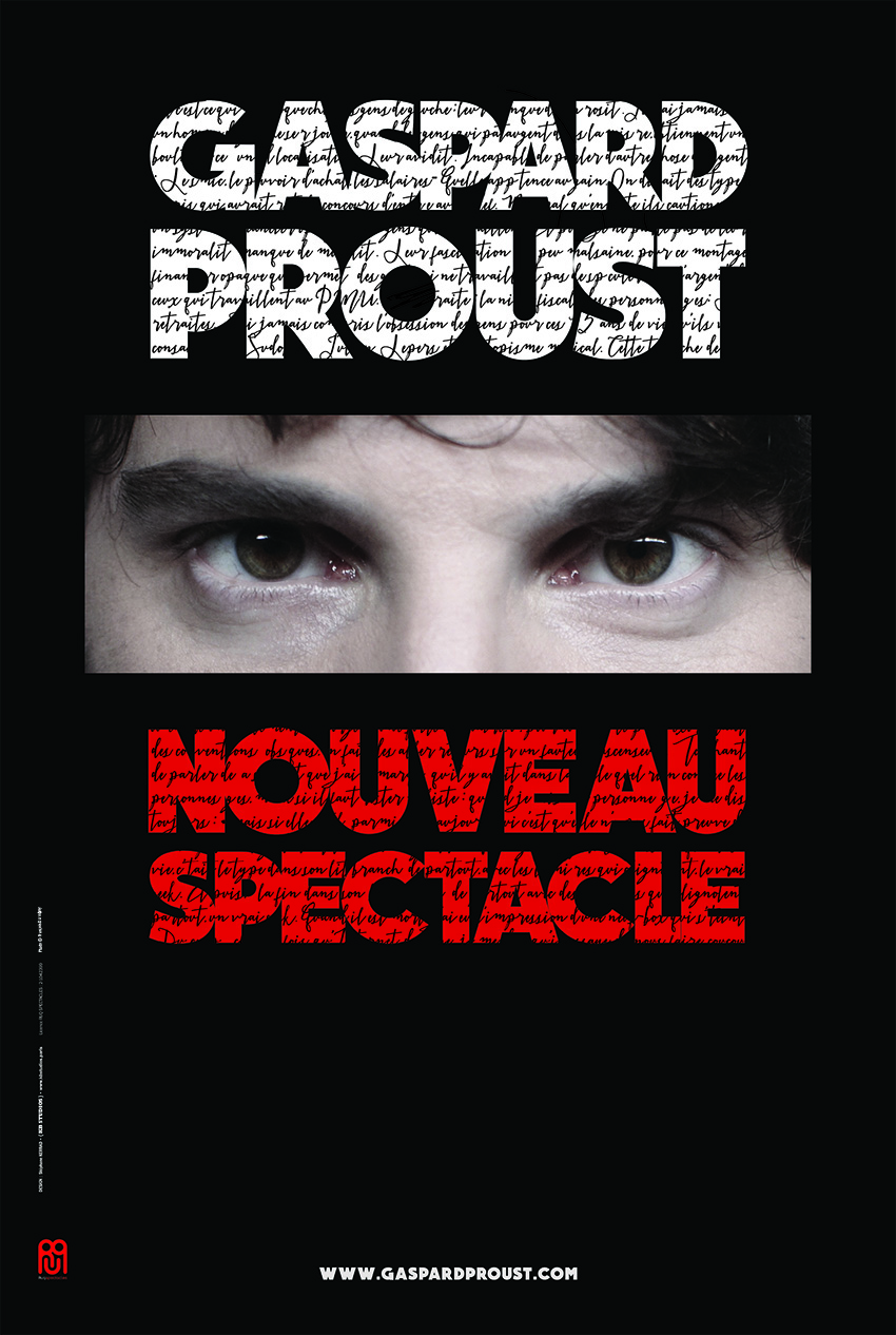 GASPARD PROUST : NOUVEAU SPECTACLE (NOUVELLE VERSION)
