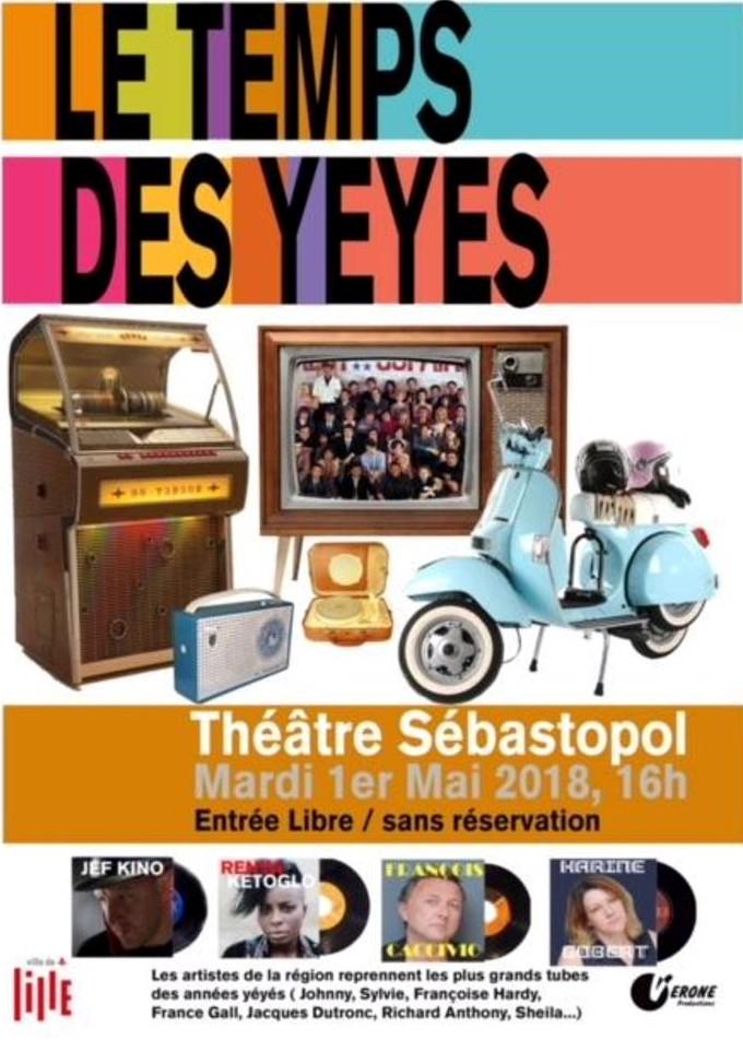 LE TEMPS DES YEYES - Concert du 1er mai