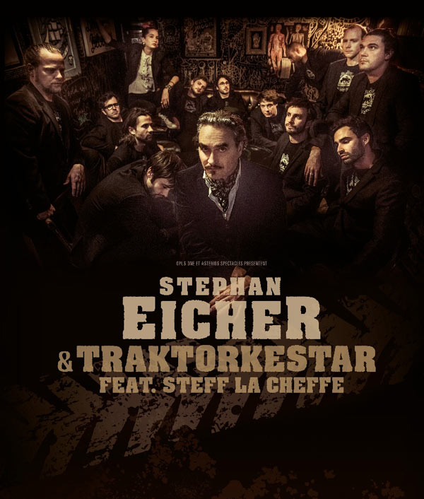 STEPHAN EICHER & TRAKTORKESTAR